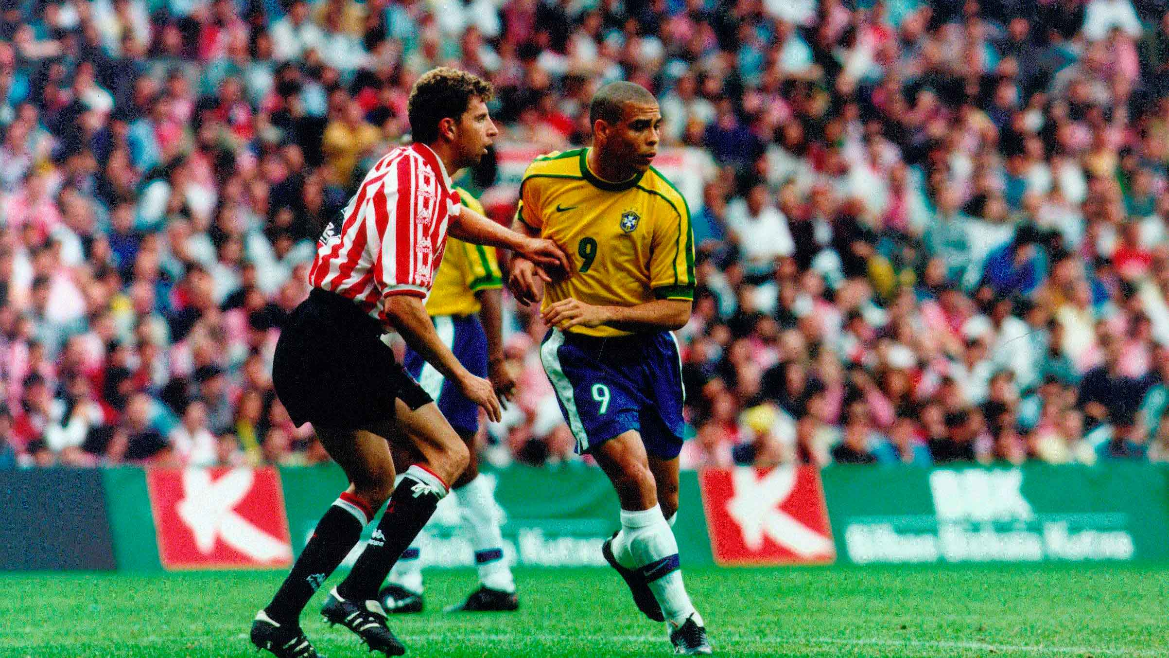 22 years since friendly against Brasil at San Mamés