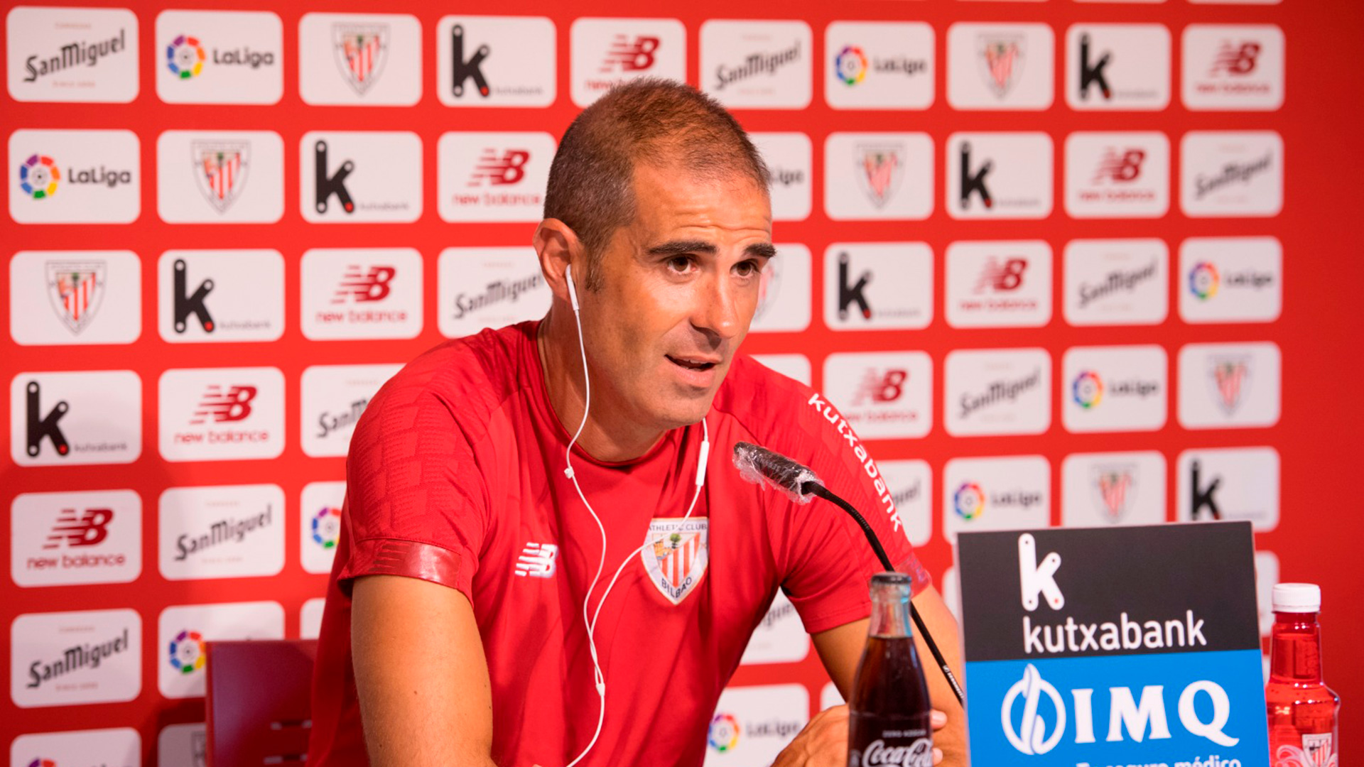 "Garitano: ""We must have all the players focused and ready"""