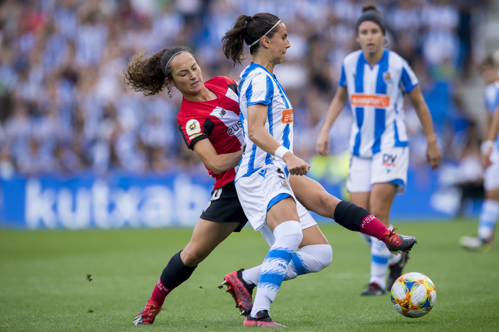 Leia Zarate, on loan to Alavés