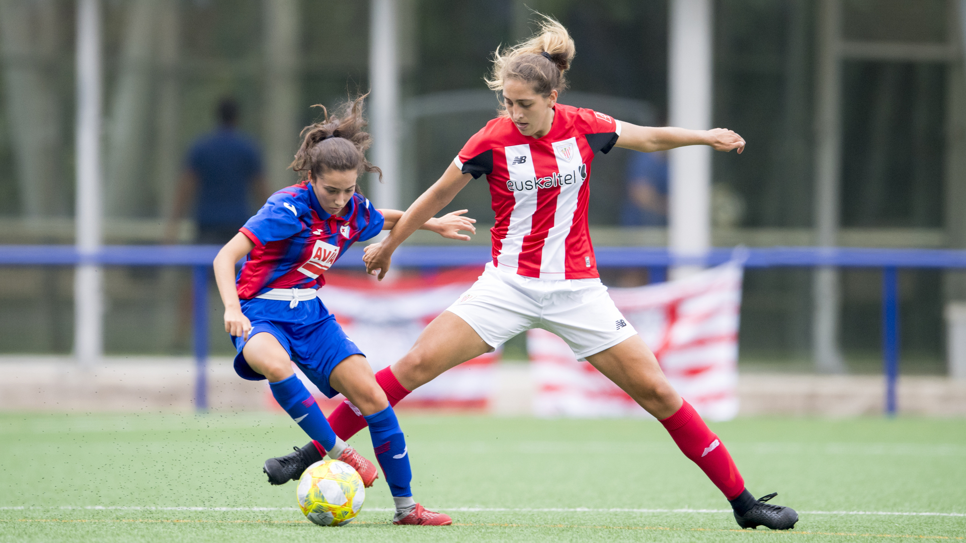 Athletic Club Women in Euskal Herria Copa semi-final against SD Eibar