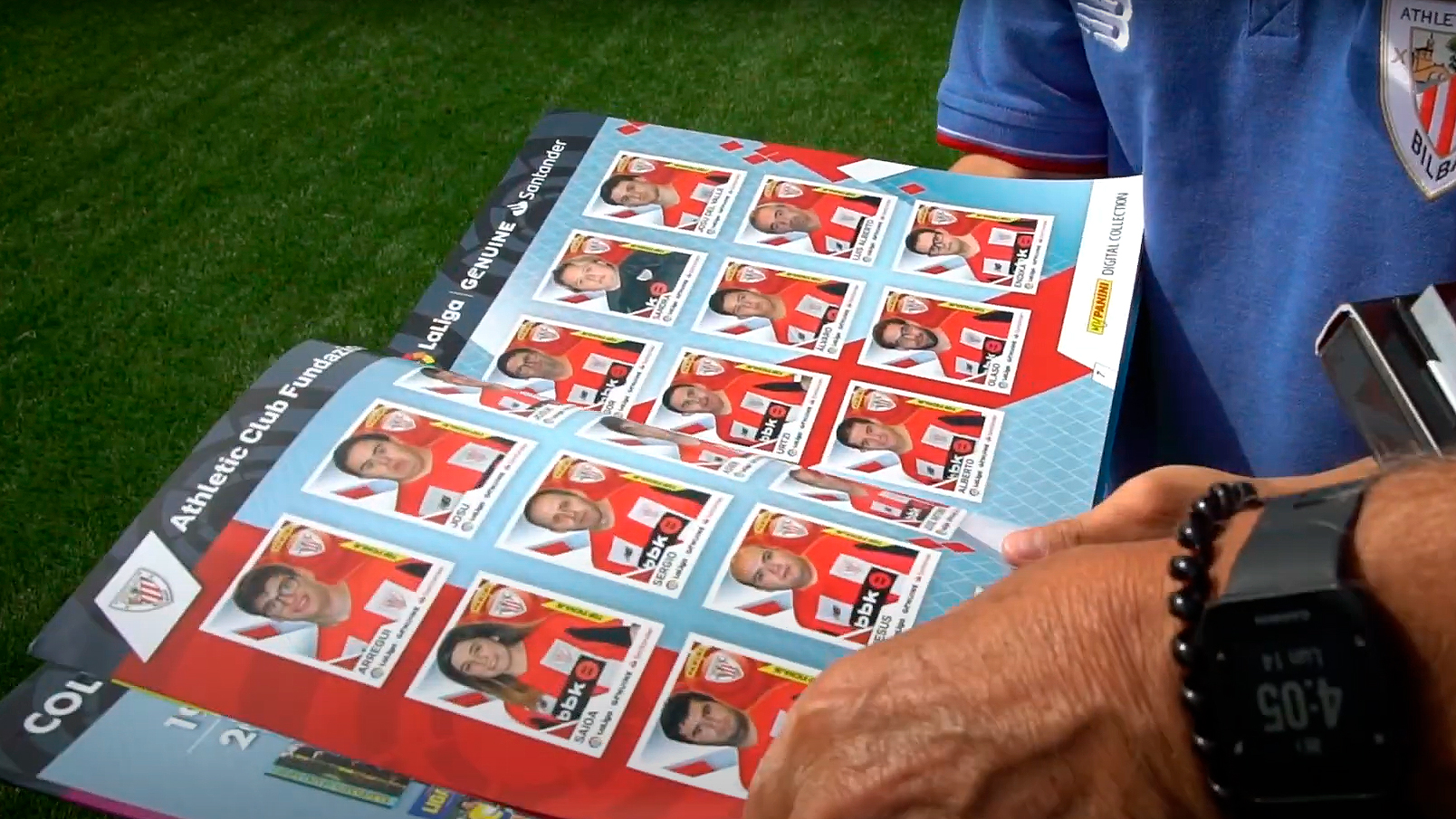 The Genuine team get their own Panini sticker albums