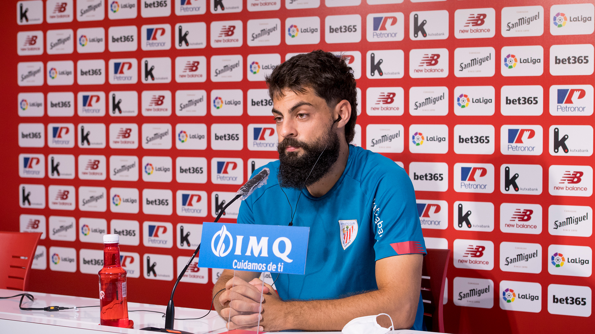 "Villalibre: ""We're working to come back from Ipurua with three points"""