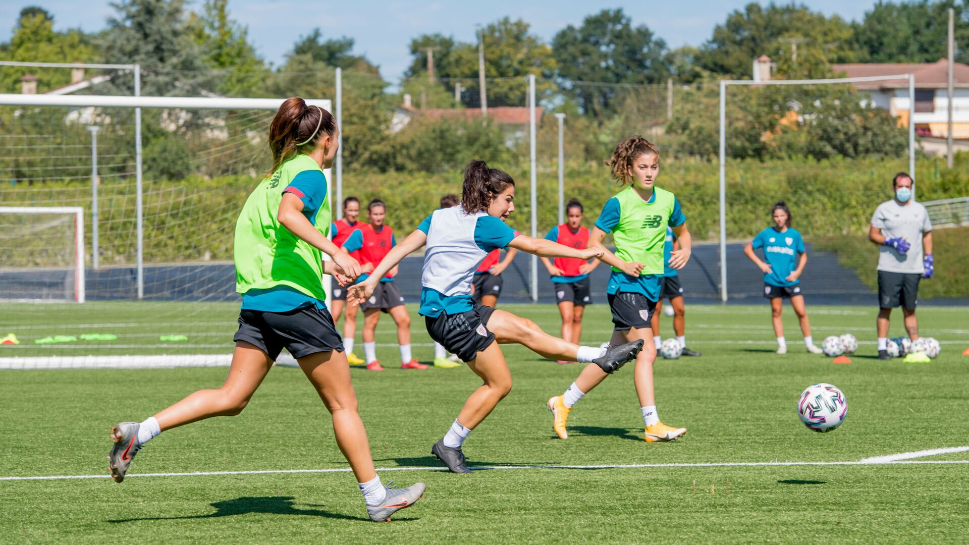 Athletic Club Women's work schedule until September 13