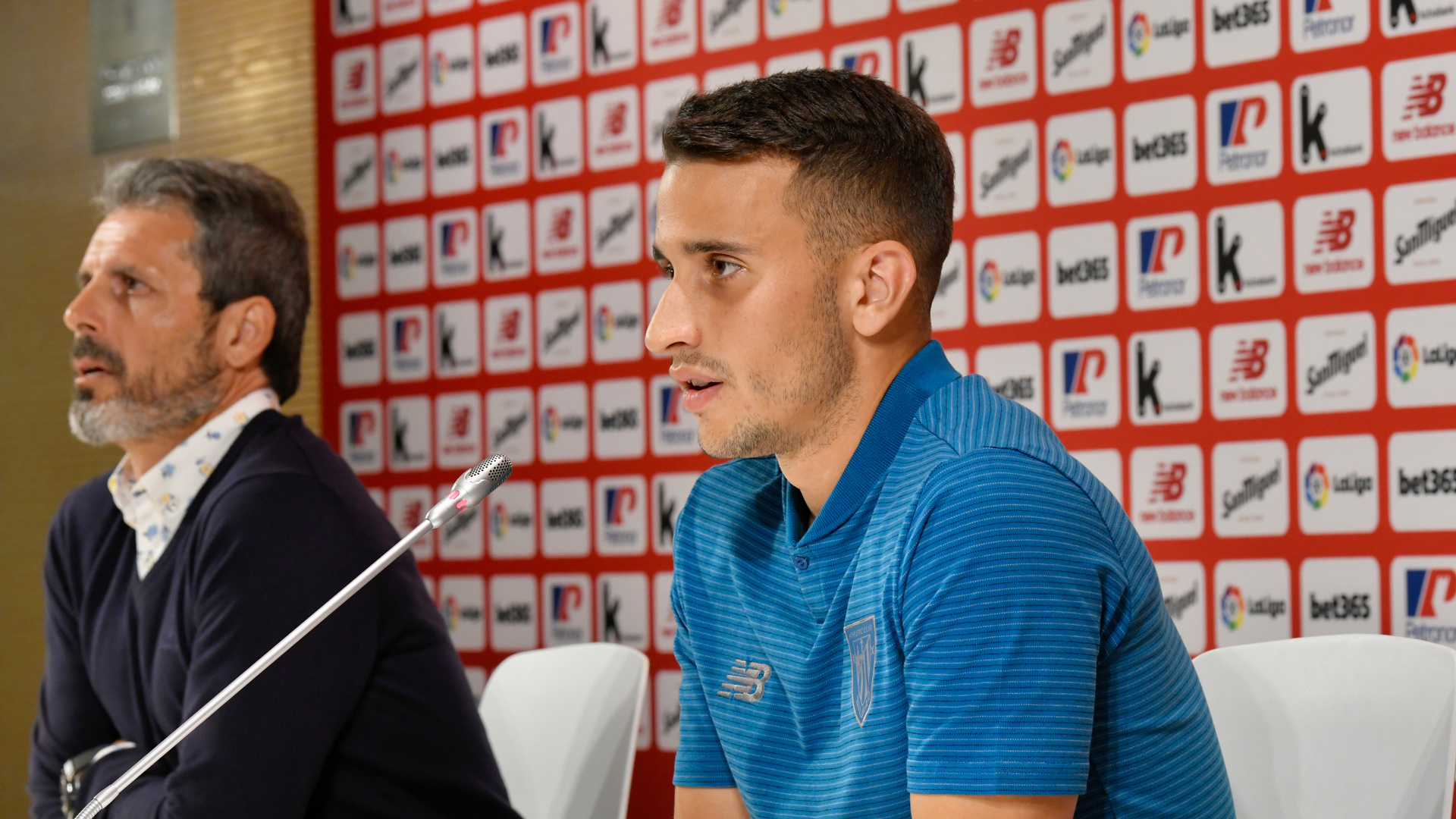 """Álex Berenguer: """"I had no doubts about playing for Athletic"""""""
