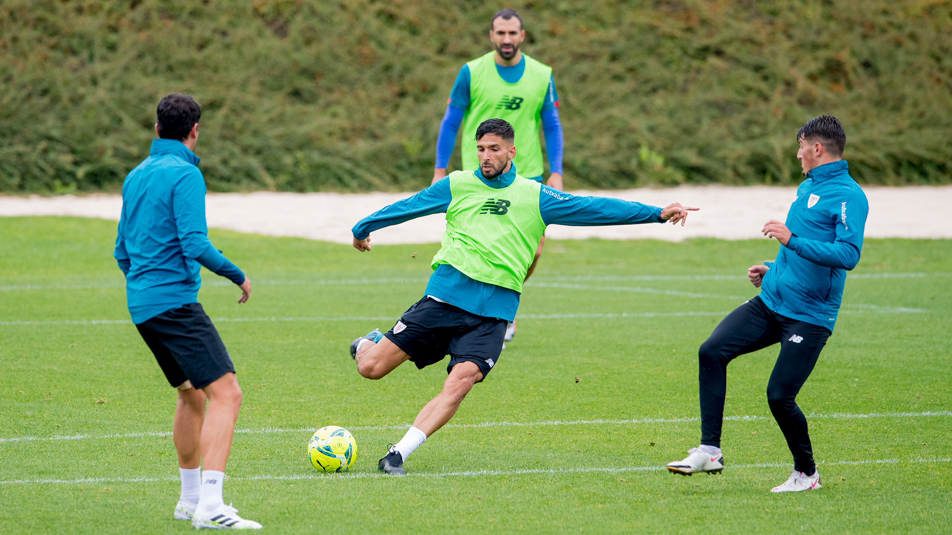 Match squad for friendly against Real Valladolid