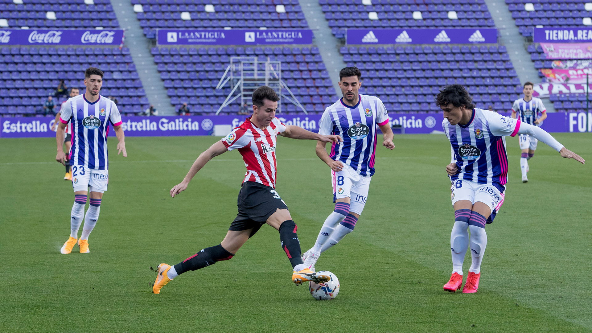 Athletic to visit the Estadio José Zorrilla on November 8