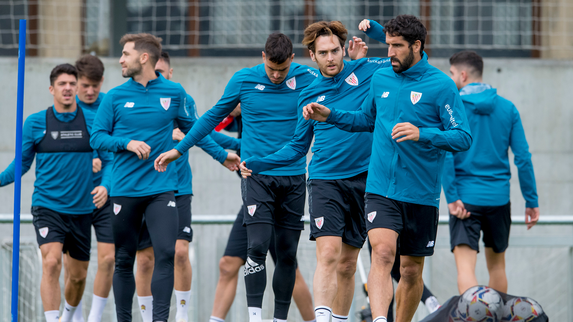 Ibai Gómez is back training with the group