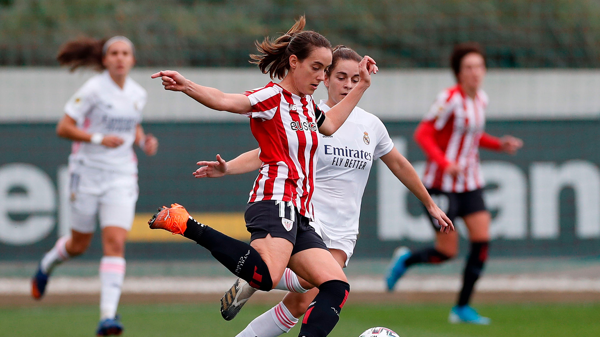ZOOM I The first fixture between Real Madrid and Athletic Club Women