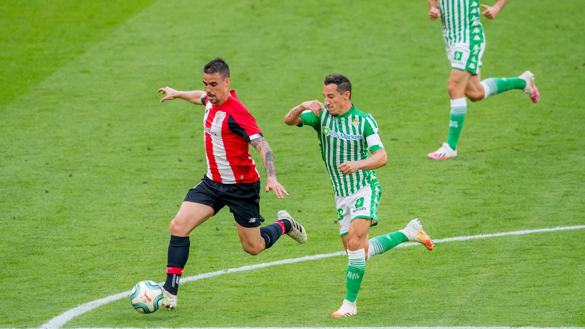 Athletic Club – Real Betis partidaren buletina deskargatu