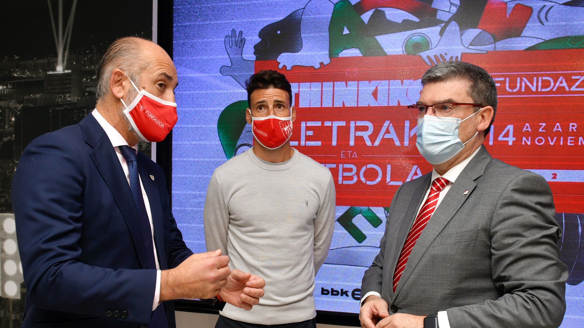 Aduriz kicks off Thinking, Letrak eta Futbola