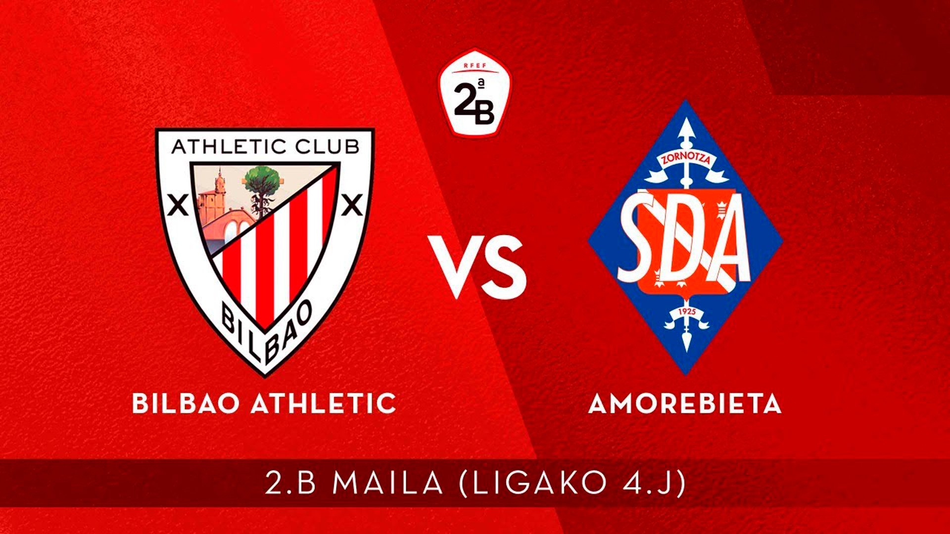 Live: Bilbao Athletic vs SD Amorebieta (18:00 CET)