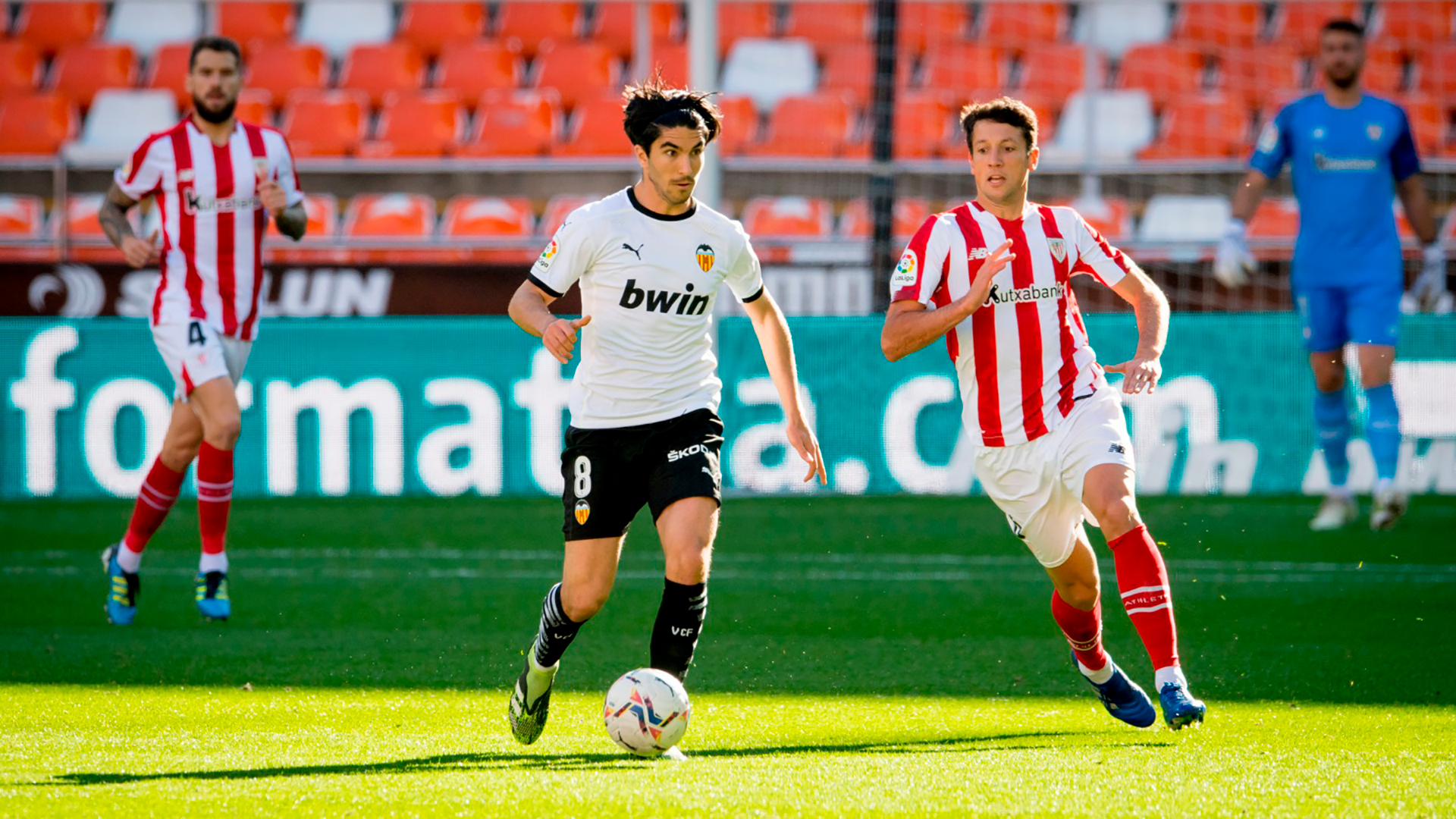 Descanso: Valencia CF 1-0 Athletic Club