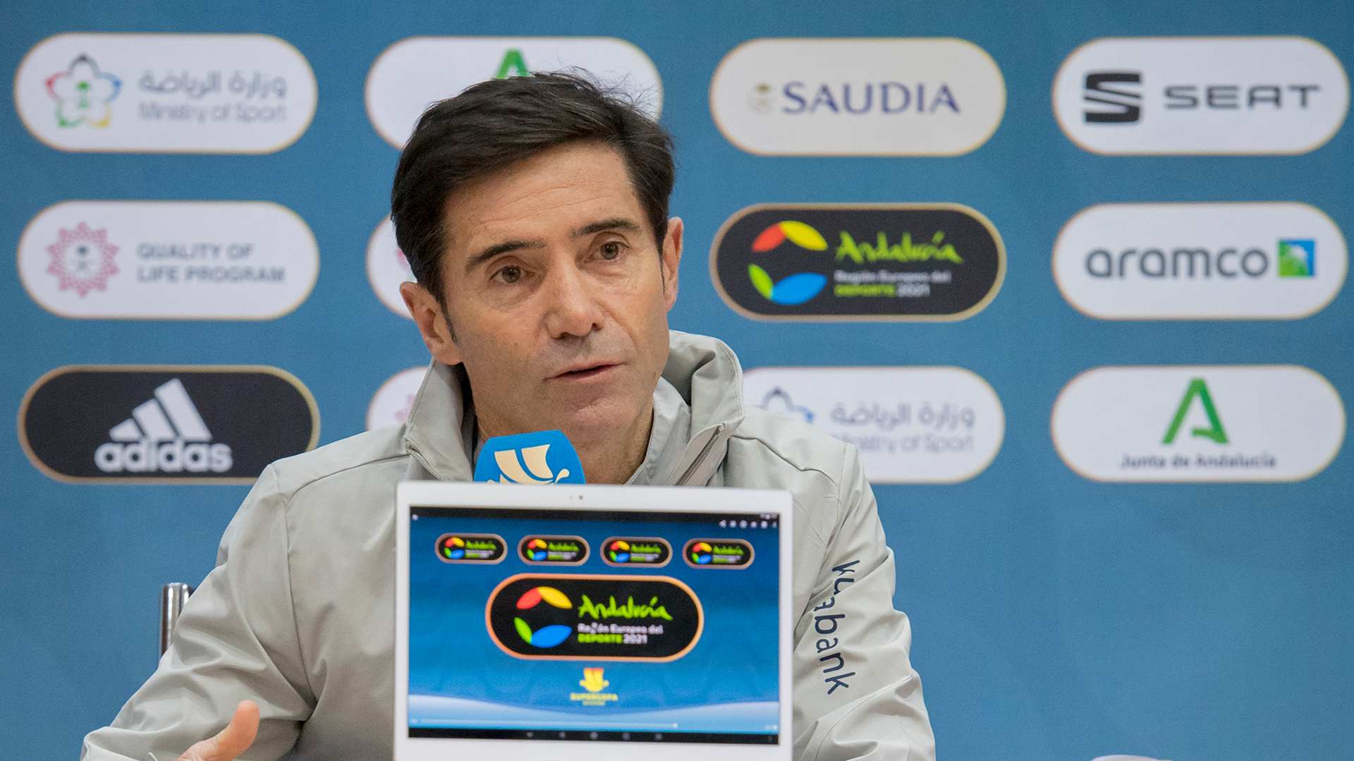 Watch: Marcelino and Williams press conference