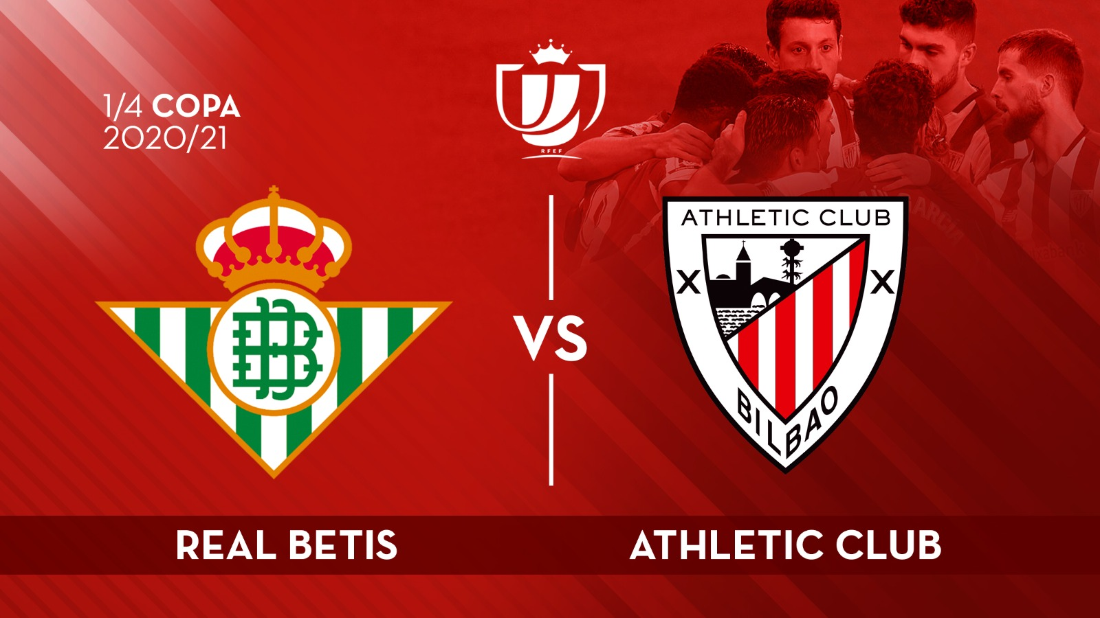 Athletic to face Real Betis in Copa quarters