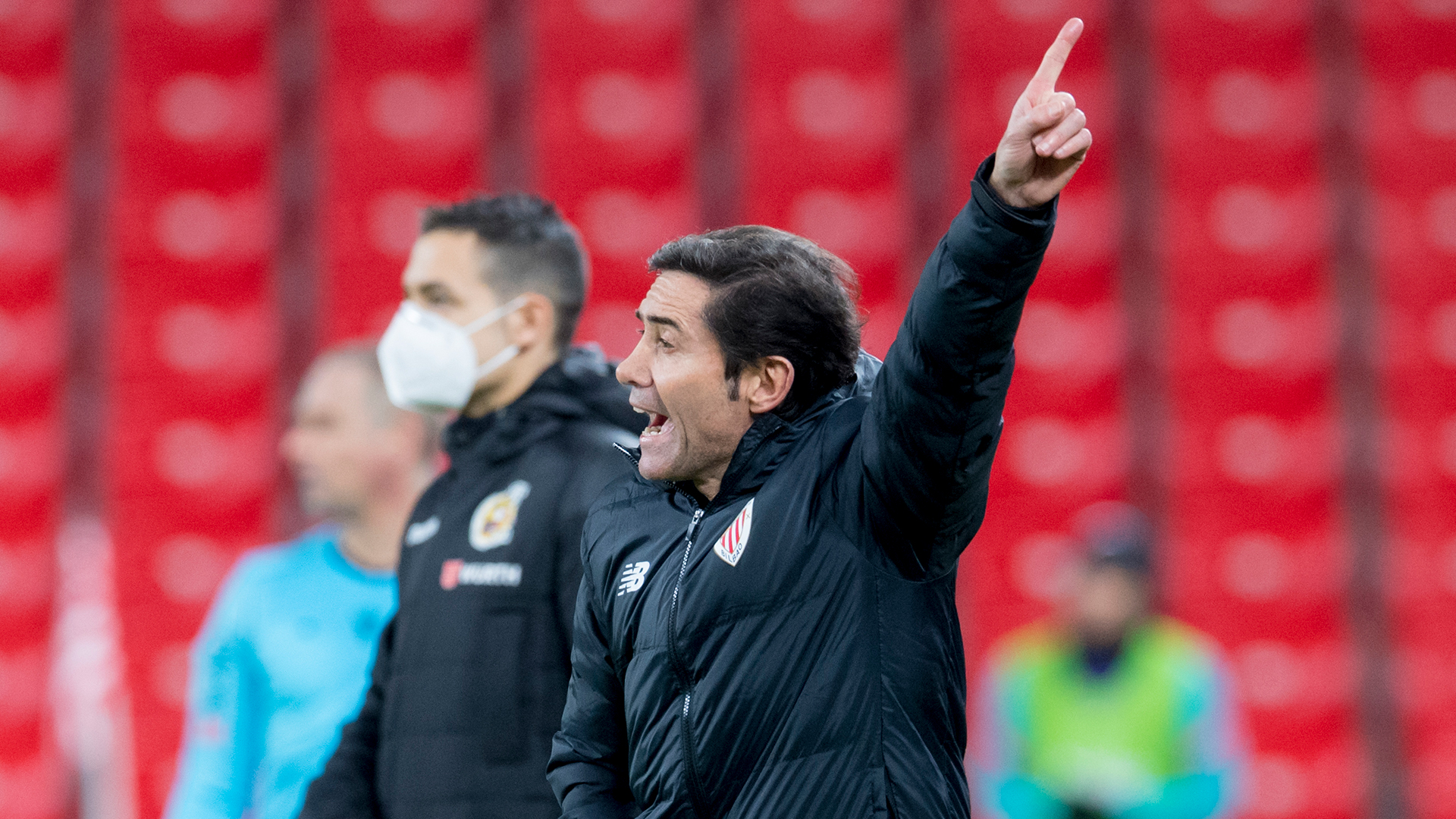 """Marcelino: """"Hard work will give us positive answers"""""""