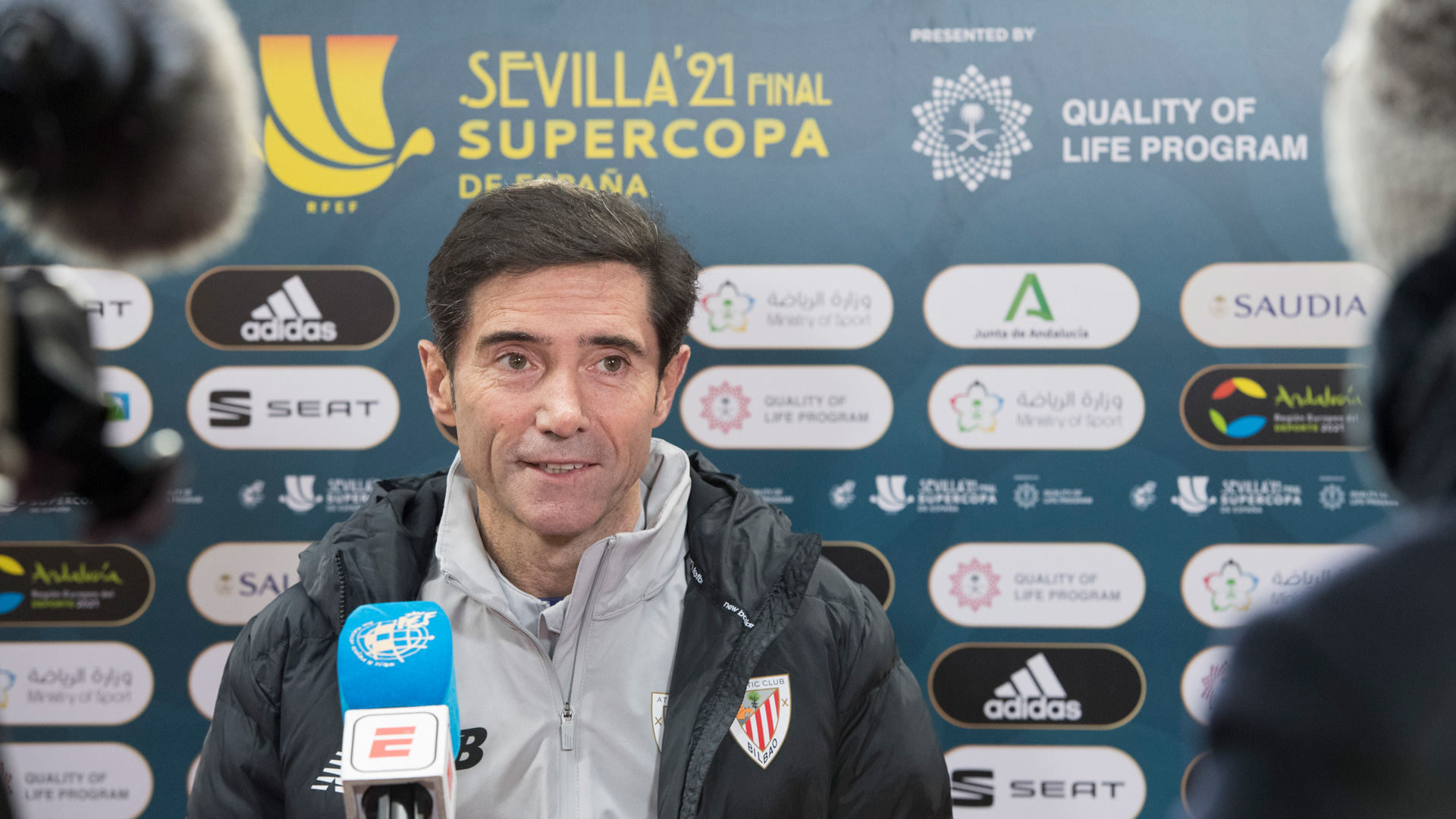 """Marcelino: """"The players are ready to take on the world"""""""