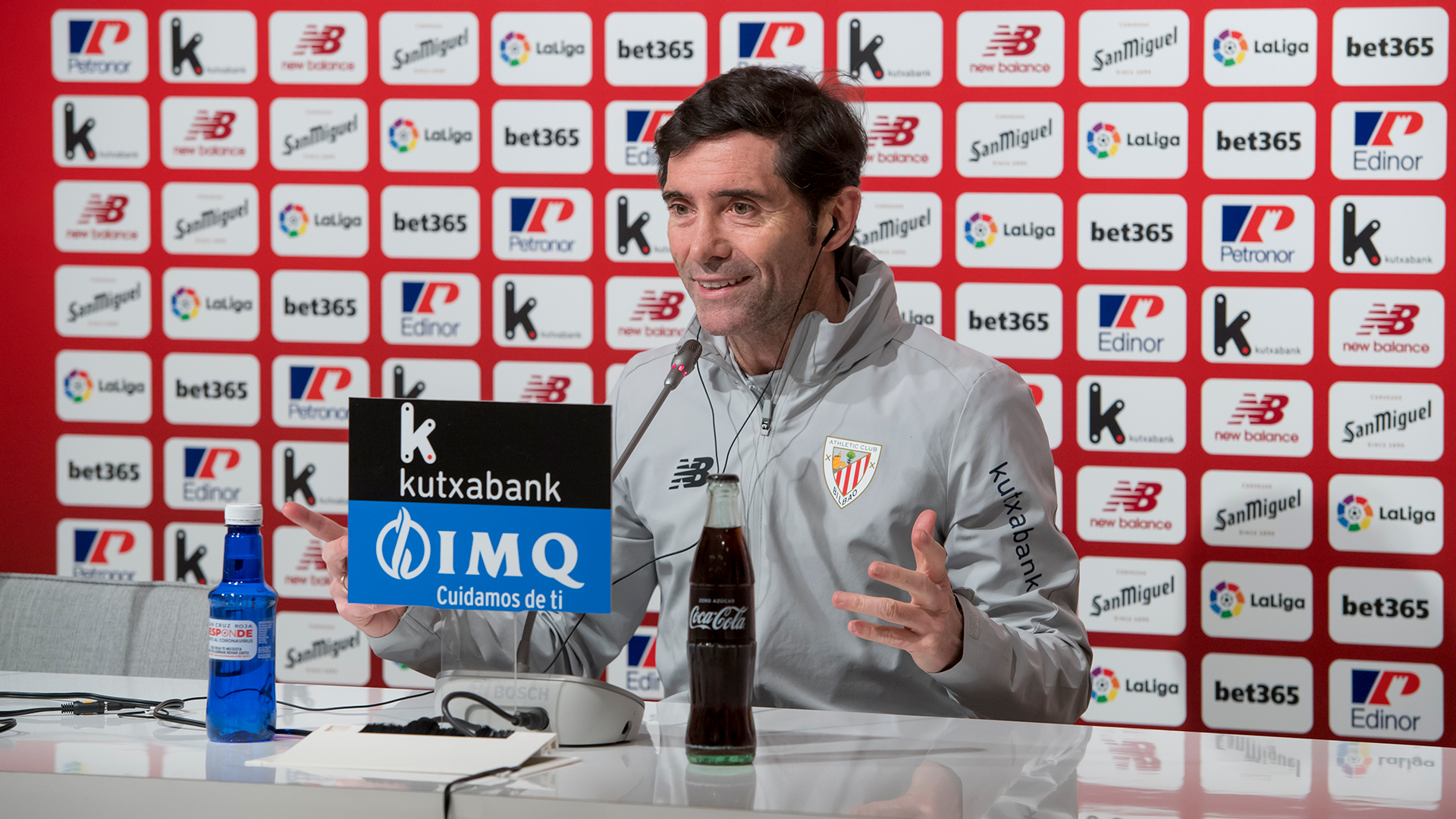 "Marcelino: ""Winning against Valencia would put us in a good position"""