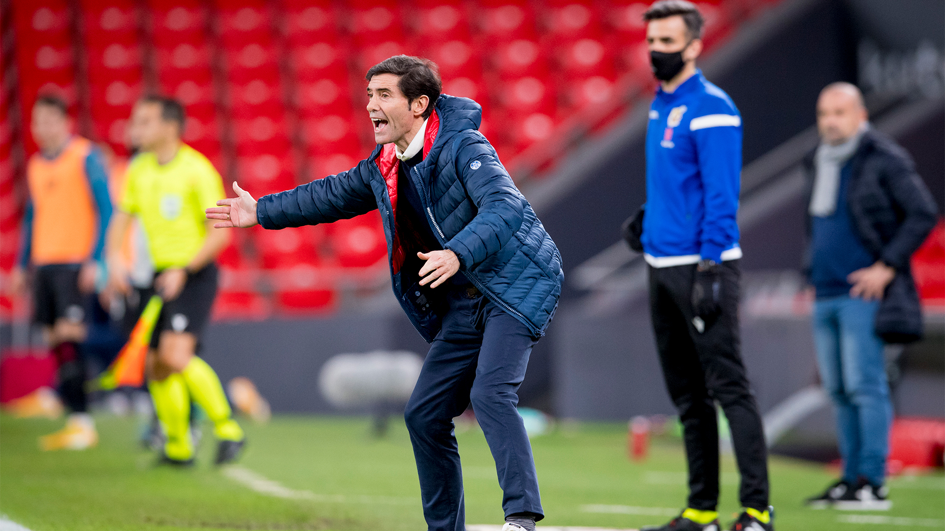"Marcelino: ""We can't let up even for a minute in Valencia"""