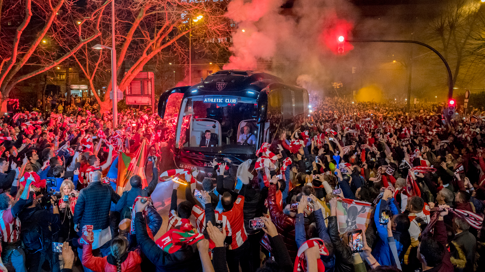 The story of Athletic Club's team bus