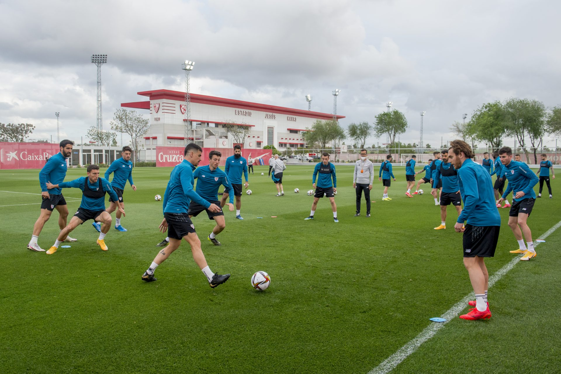 Training I Ciudad Deportiva Sevilla FC I Thursday (April 1, 2021)