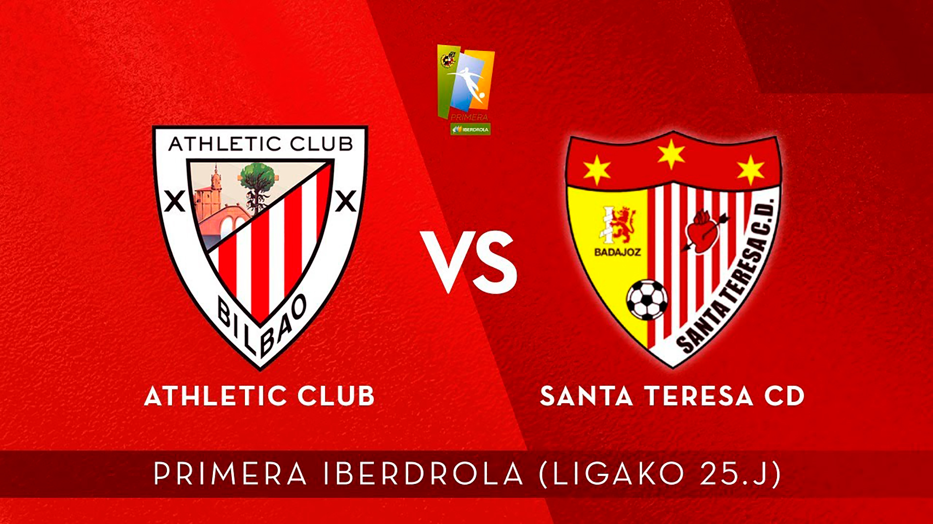 AUDIO LIVE: Athletic Club – Santa Teresa (25. J Primera Iberdrola)