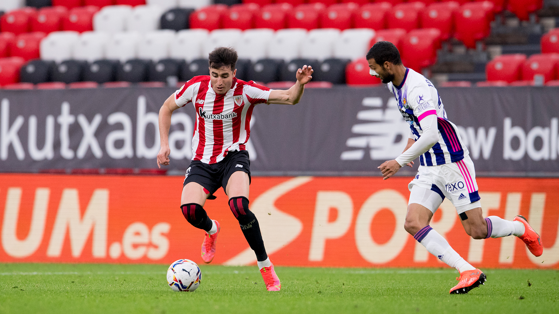 Draw against Real Valladolid at San Mamés