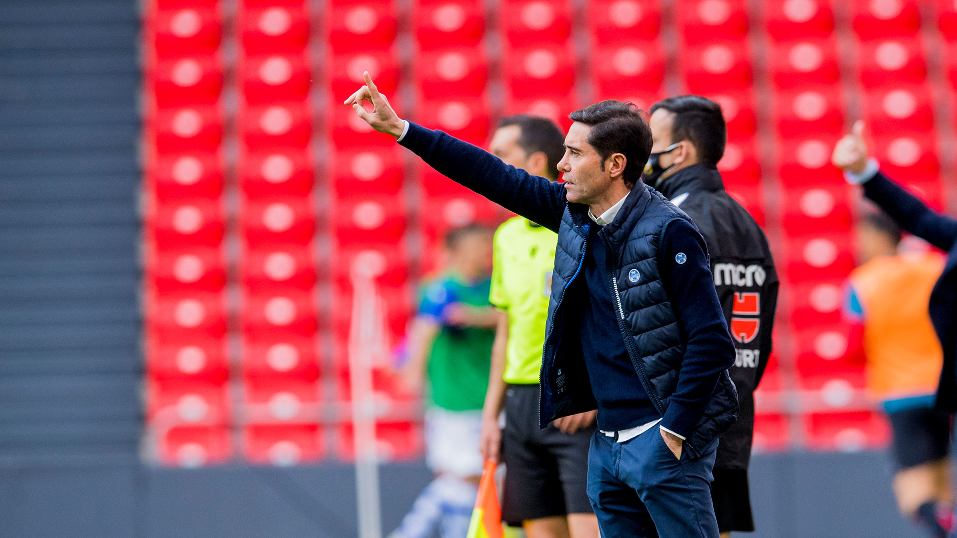 "Marcelino: ""We must concentrate on the positives"""