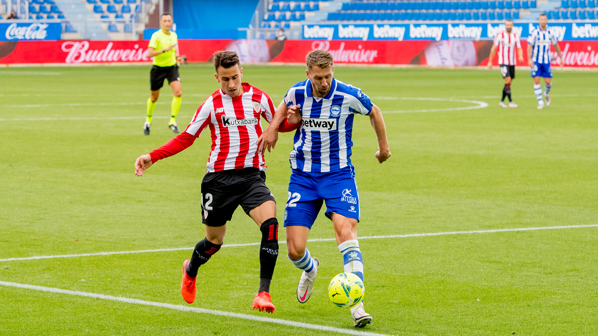 Athletic Club-Deportivo Alaves partidaren buletina deskargatu