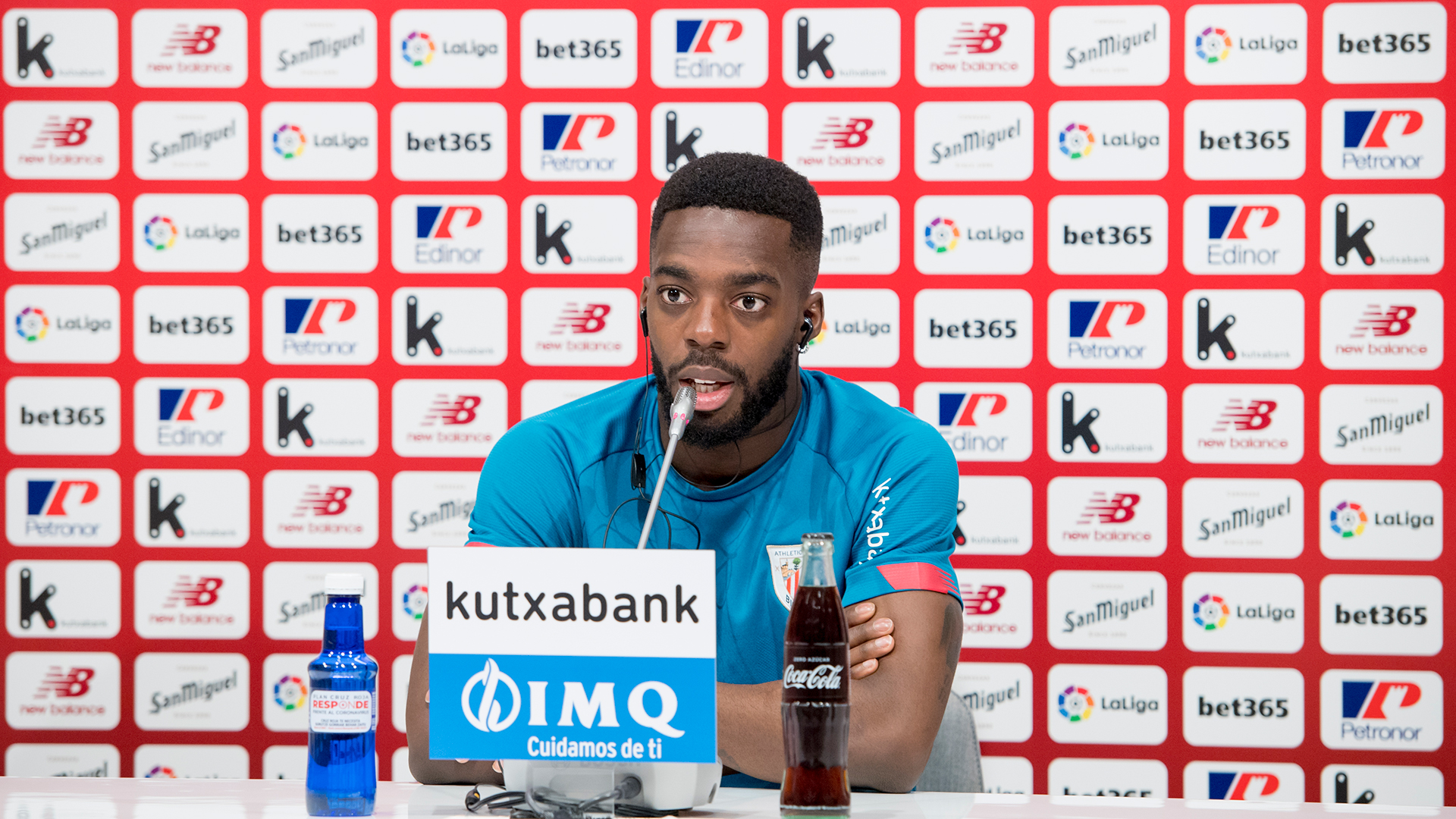 """Iñaki Williams: """"Playing with Nico is a dream come true"""""""