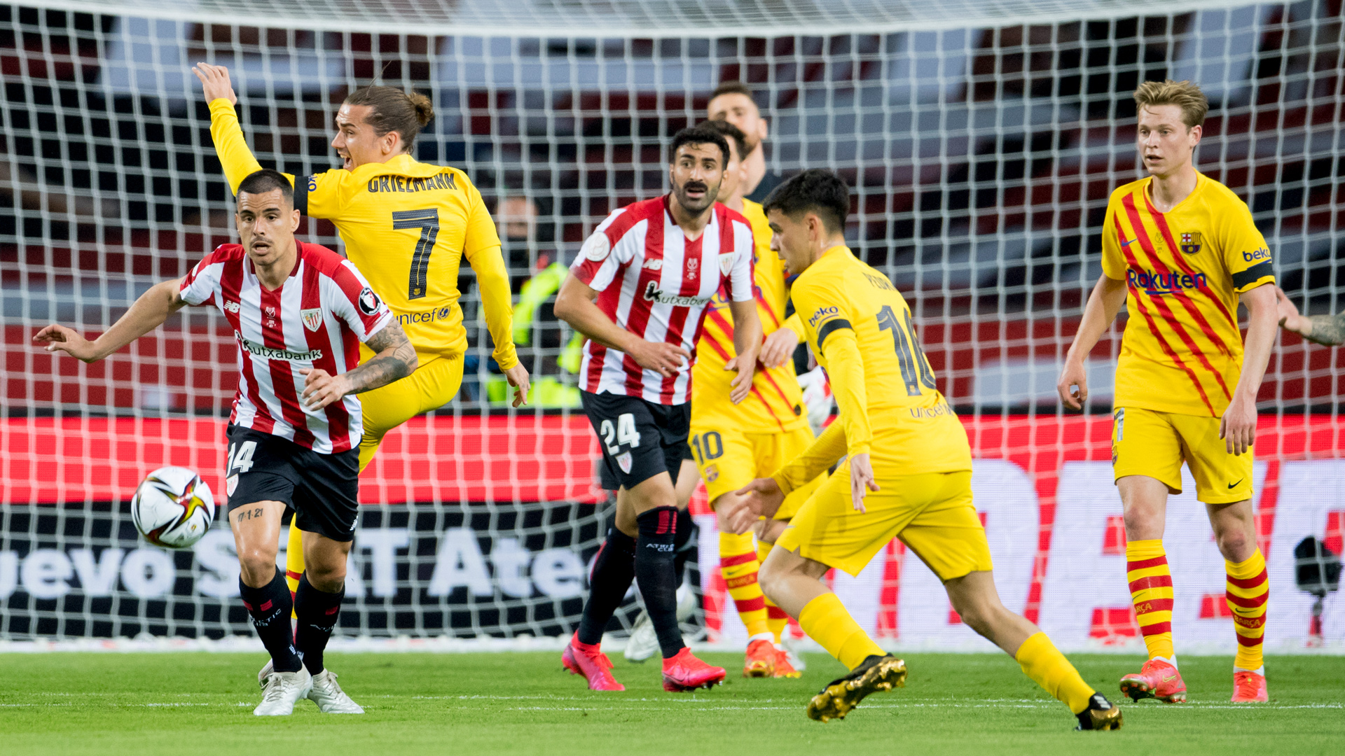 Athletic defeated by FC Barcelona in the Copa final