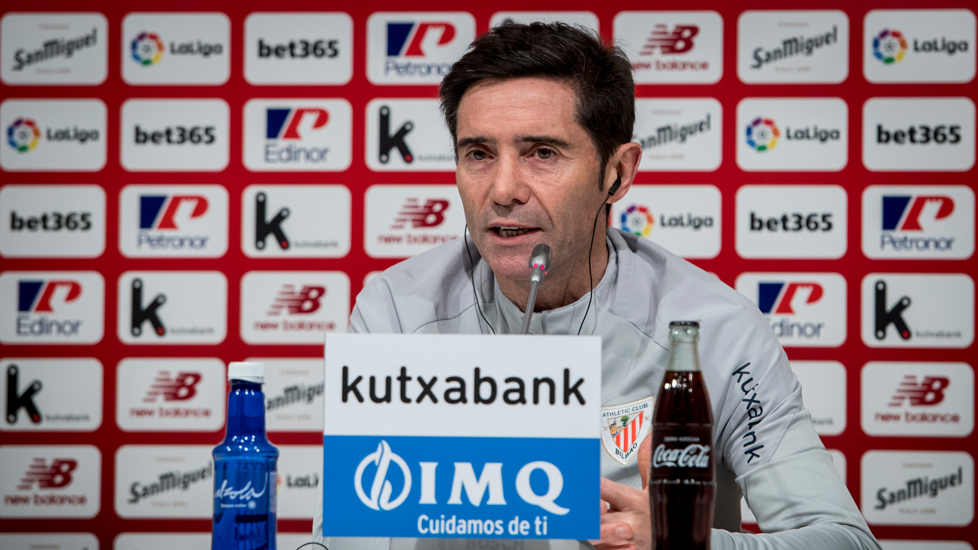 "Marcelino: ""When you take a blow, you have to pick yourself up"""