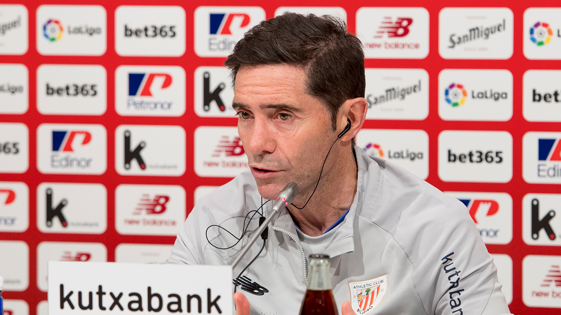 "Marcelino: ""We'll compete well against Real Madrid"""