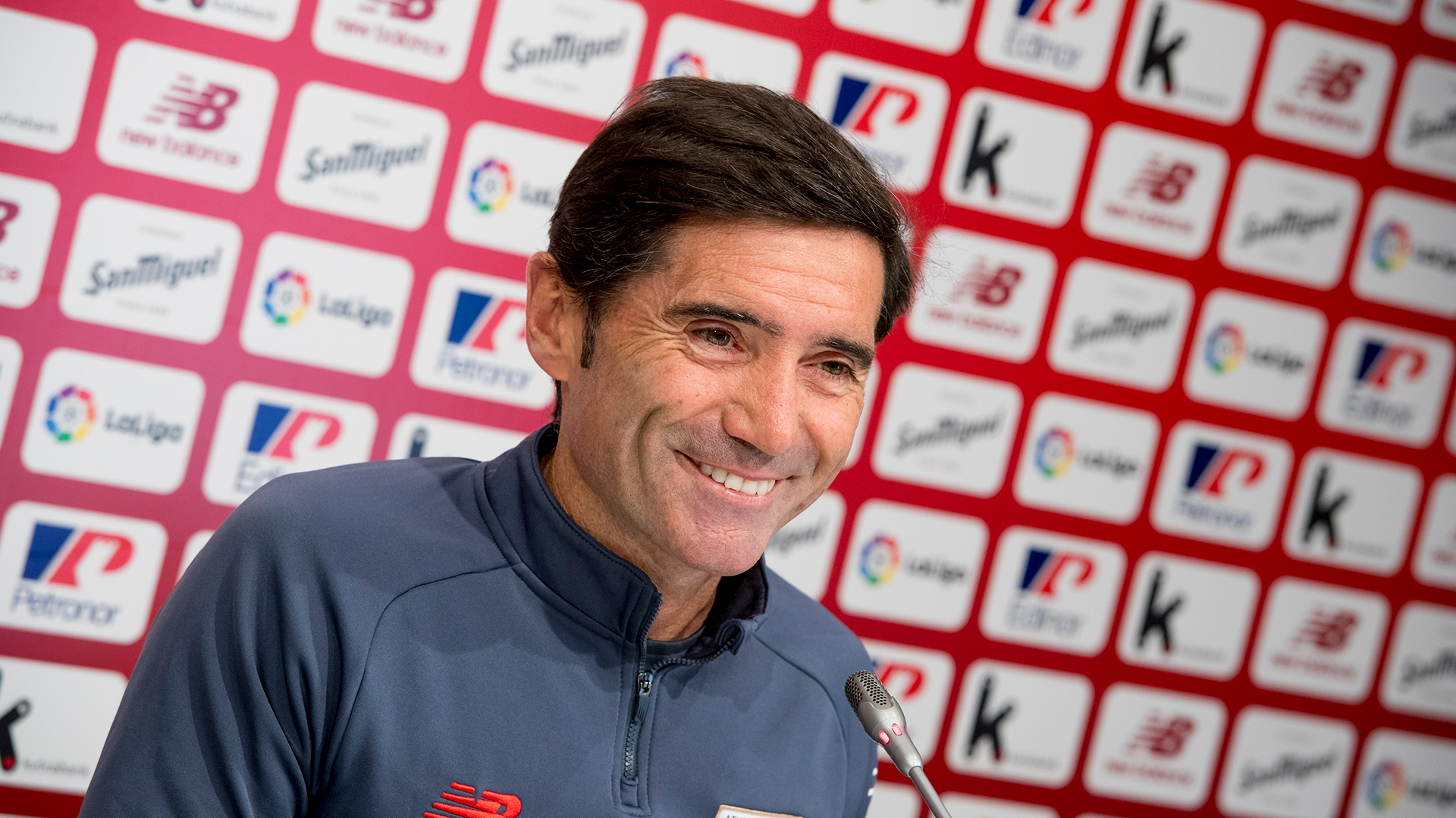 """Marcelino: """"We need the fans and all the players"""""""