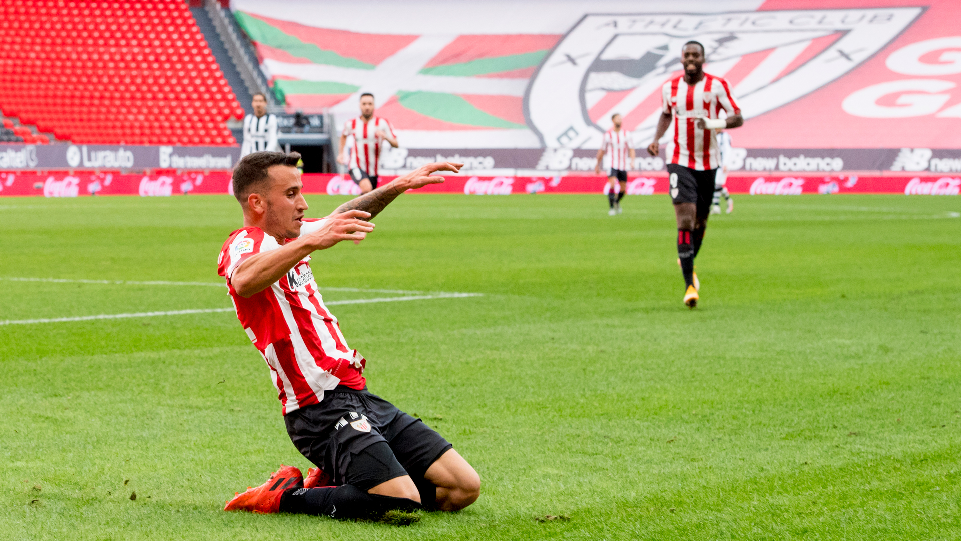 One year since Berenguer's first Athletic goal
