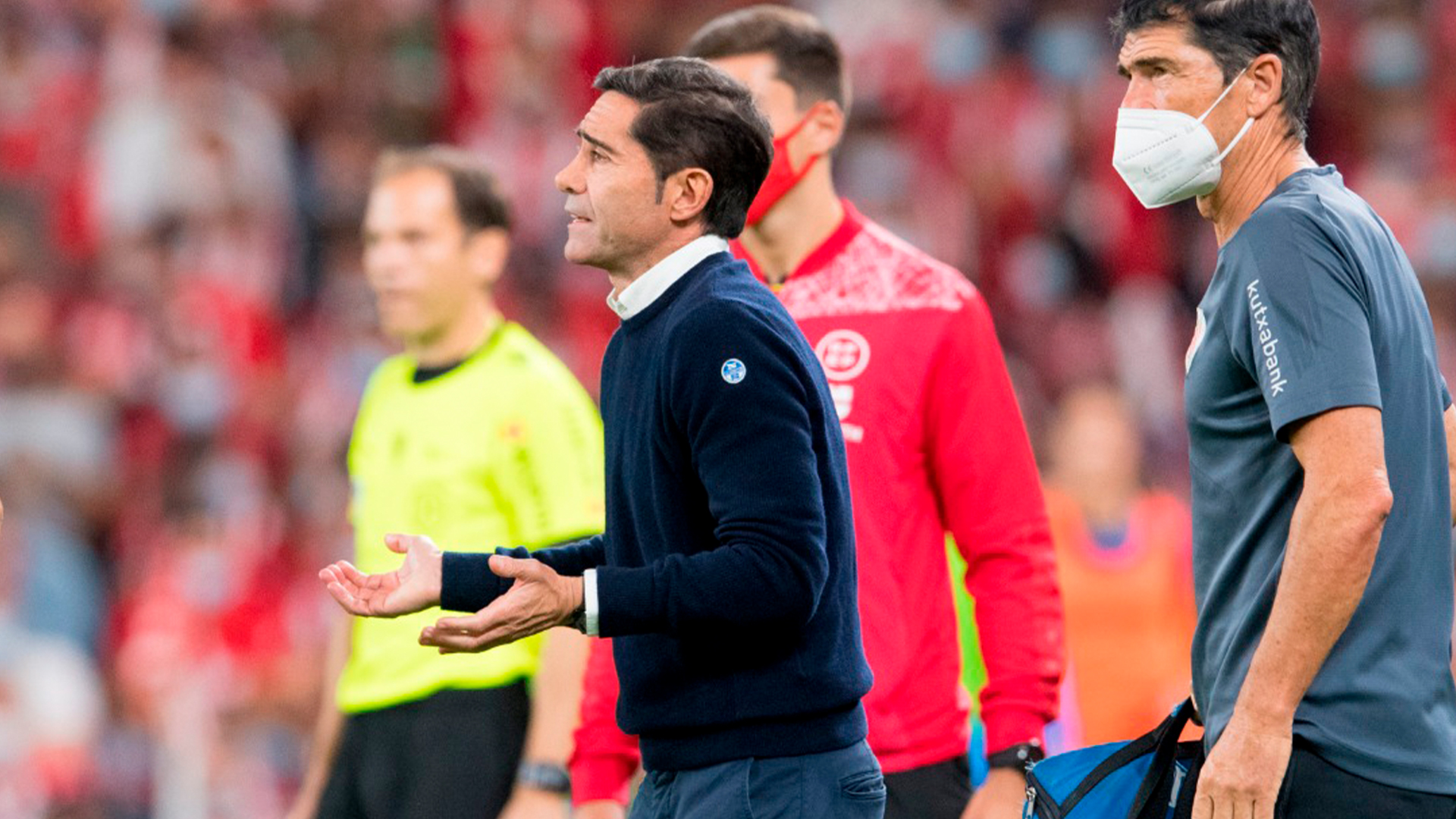"""Marcelino: """"I'm very happy with our performance tonight"""""""