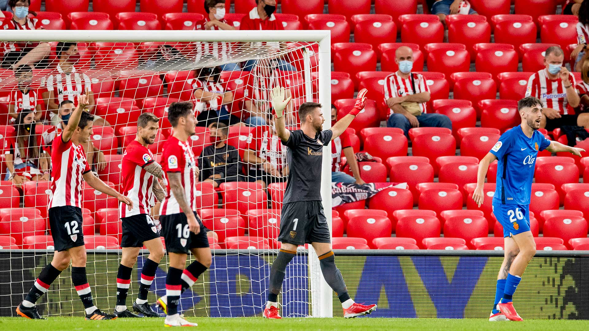 Athletic Club, among the best defences in Europe's top leagues